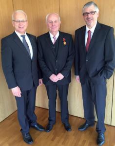 Siegfried Bleumer erhielt Bundesverdienstkreuz