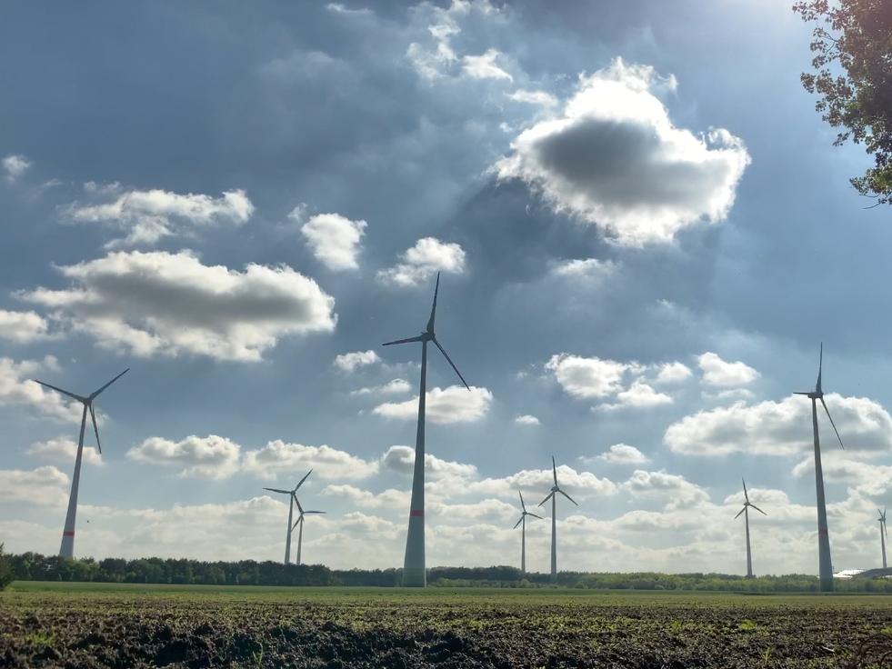 Windparkpläne in den Gemeinden Itterbeck und Wielen