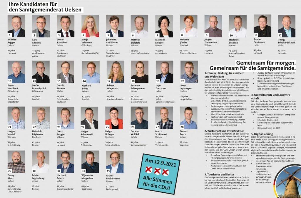 Kandidaten zur Kommunalwahl verabschiedet
